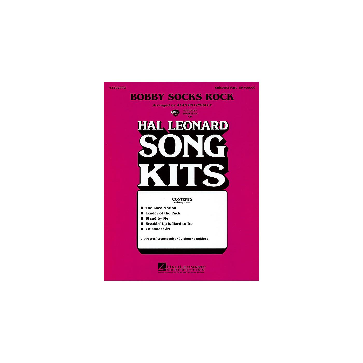 Hal Leonard Bobby Socks Rock (Song Kit) ShowTrax CD Arranged by Alan Billingsley thumbnail