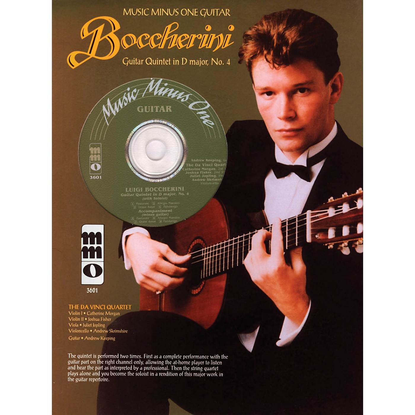 Music Minus One Boccherini - Guitar Quintet No. 4 in D, Fandango Music Minus One Series Softcover with CD thumbnail