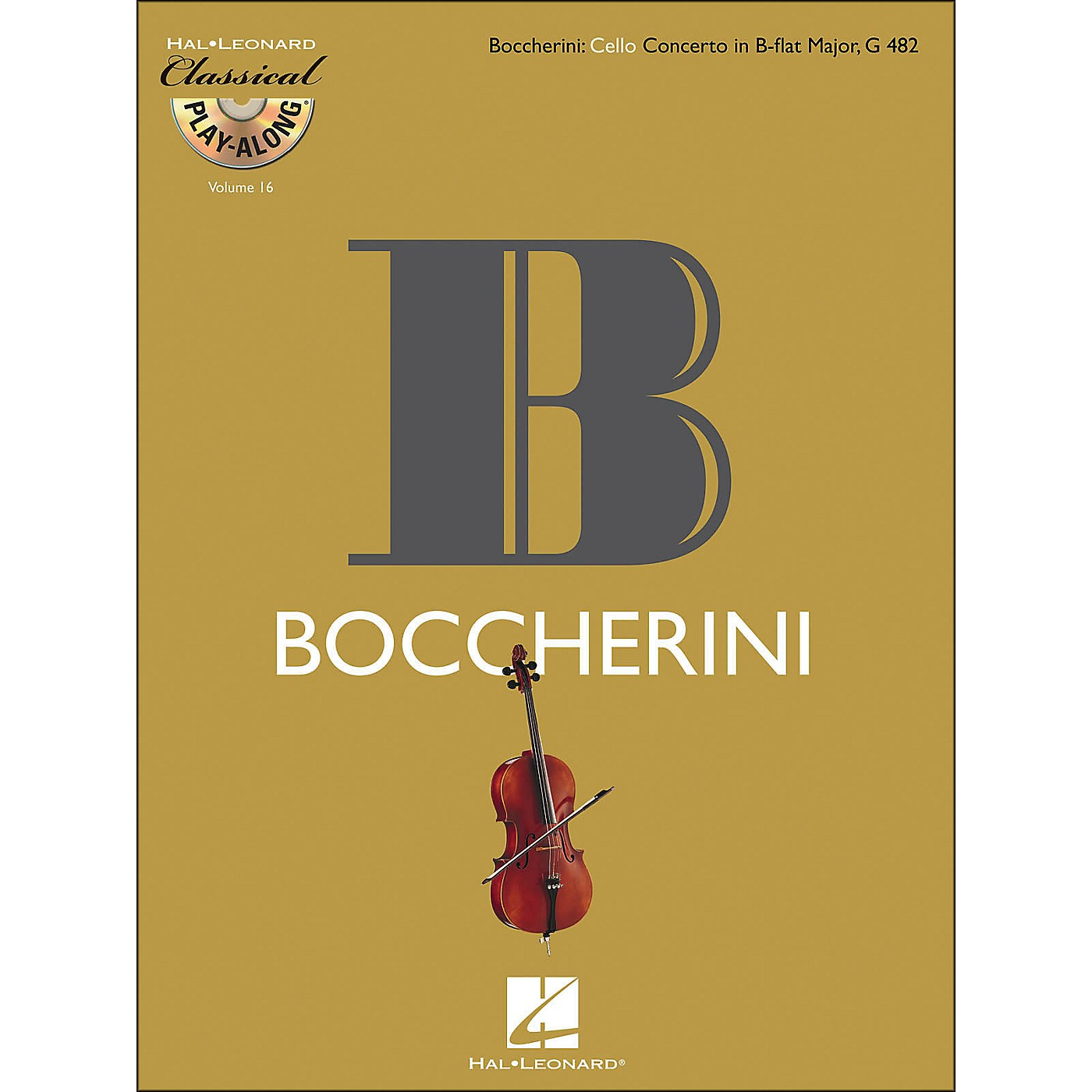 Hal Leonard Boccherini: Cello Concerto Inb-Flat Major, G 482 Classicalplay-Along 9Book/CD) Vol.16 thumbnail