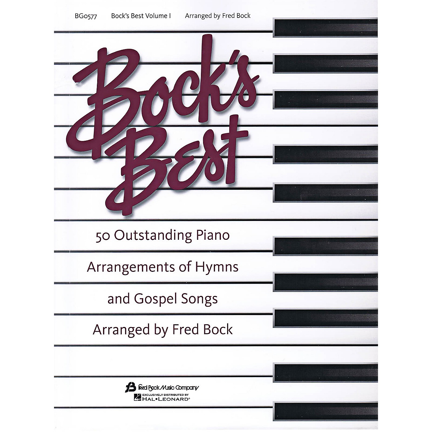 Fred Bock Music Bock's Best - Volume 1 for Piano Solo thumbnail