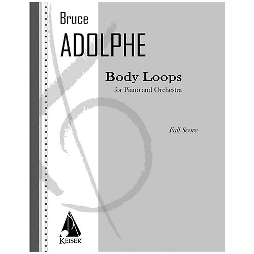 Lauren Keiser Music Publishing Body Loops LKM Music Series by Bruce Adolphe thumbnail