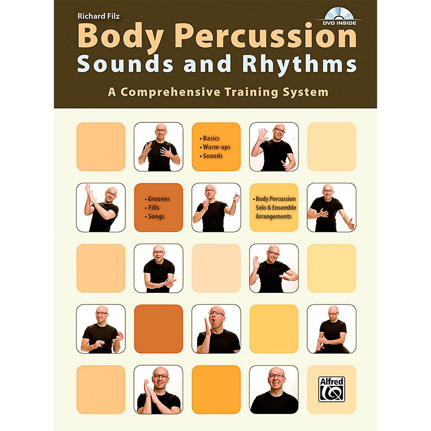 Alfred Body Percussion: Sounds and Rhythms Book & DVD thumbnail