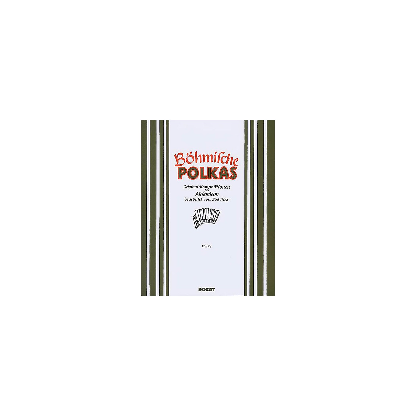 Schott Bohmische Polkas Accordion Schott Series thumbnail