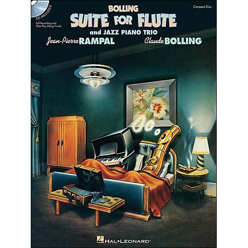 Hal Leonard Bolling Suite for Flute & Jazz Piano Trio Book Companion CD thumbnail