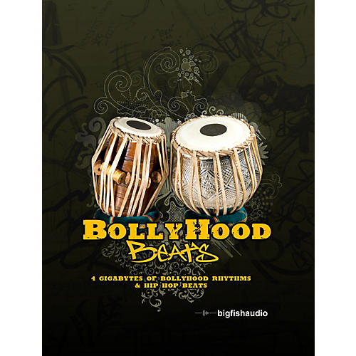 Big Fish Bollyhood Beats Sample Library-thumbnail