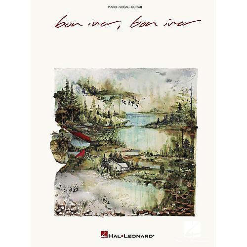 Hal Leonard Bon Iver - Bon Iver Piano/Vocal/Piano Songbook thumbnail