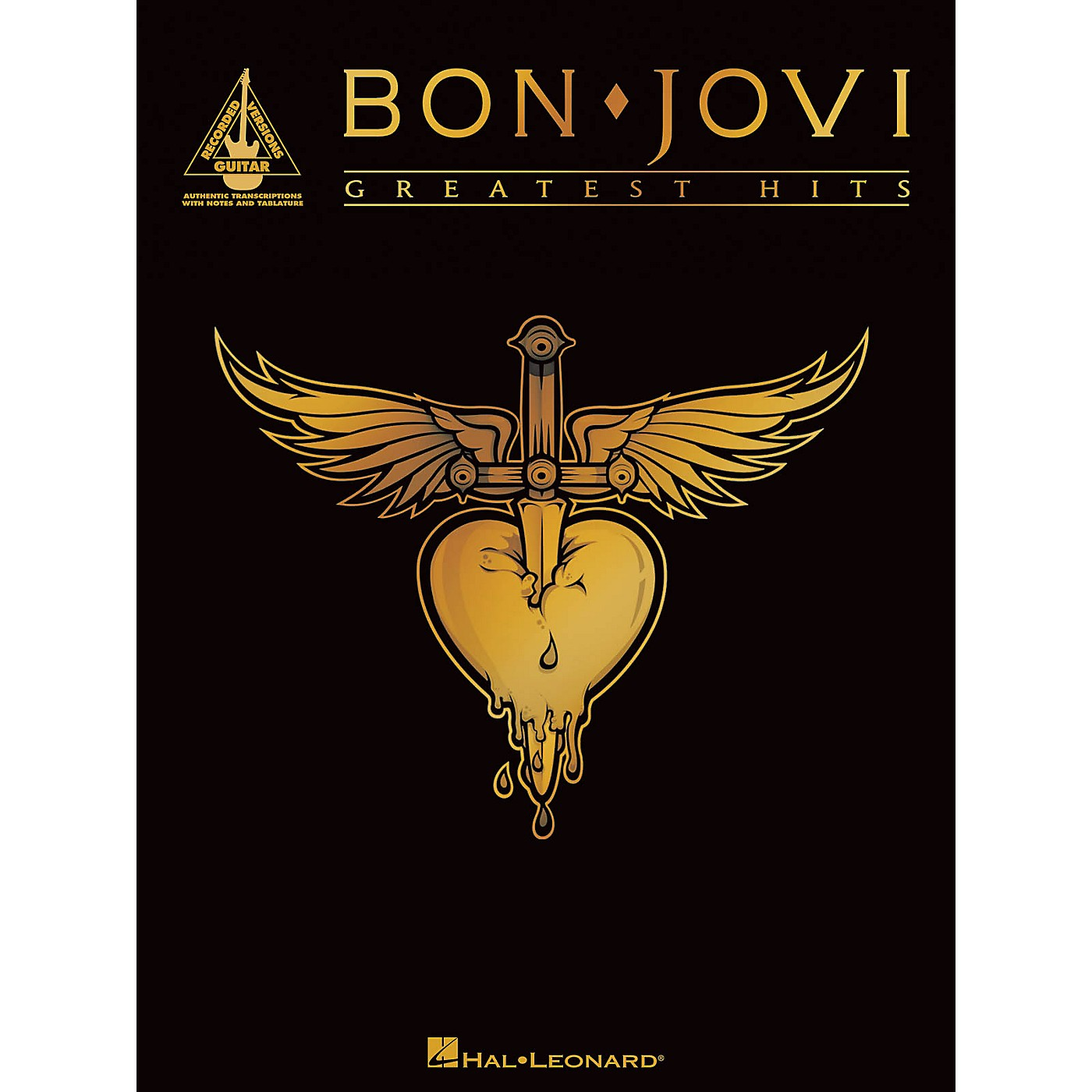 Hal Leonard Bon Jovi - Greatest Hits Guitar Tab Songbook thumbnail