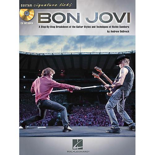 Hal Leonard Bon Jovi Guitar Signature Licks Book/CD thumbnail