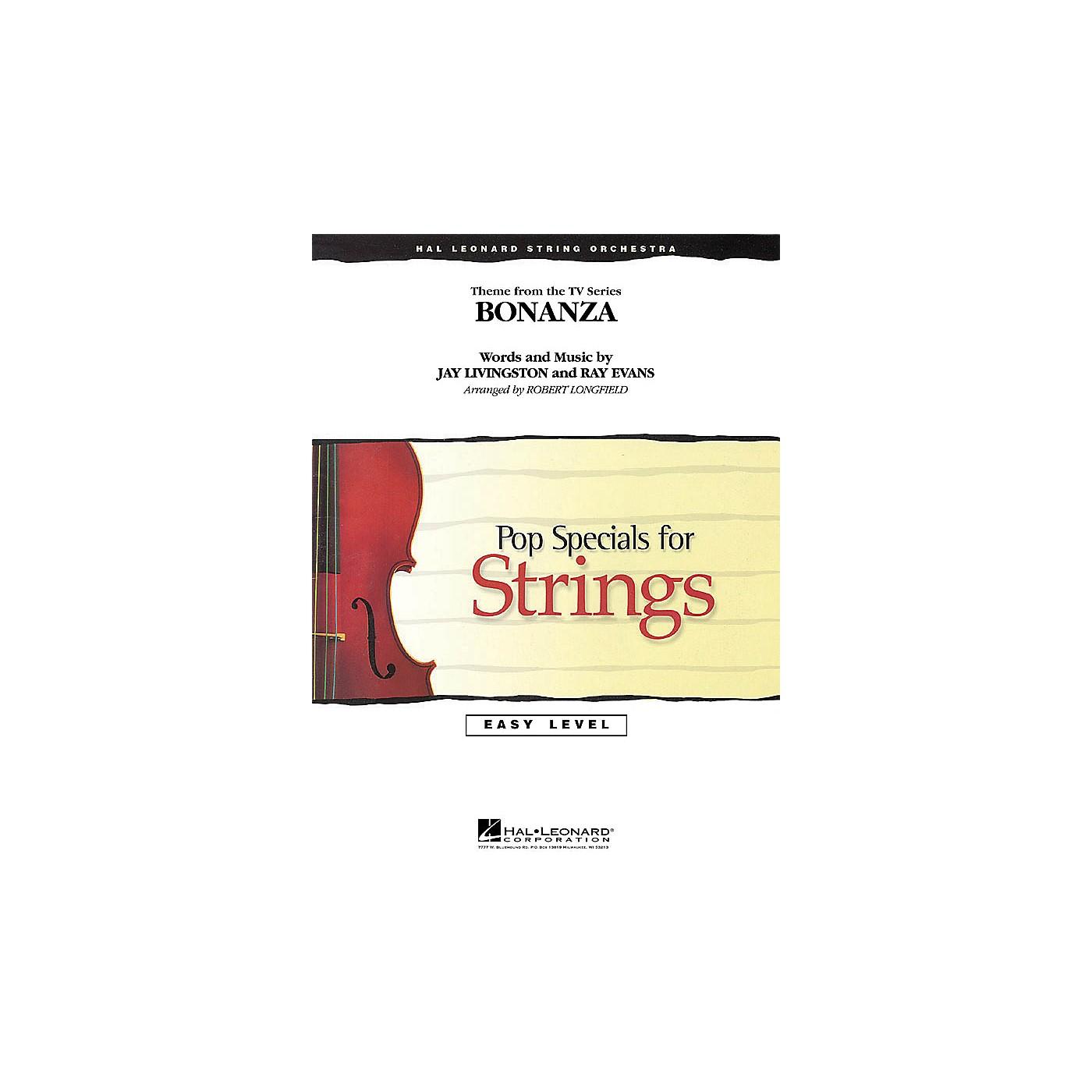 Hal Leonard Bonanza Easy Pop Specials For Strings Series Arranged by Robert Longfield thumbnail