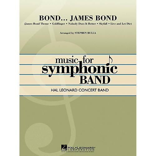 Hal Leonard Bond...James Bond Hal Leonard Concert Band Level 4 thumbnail