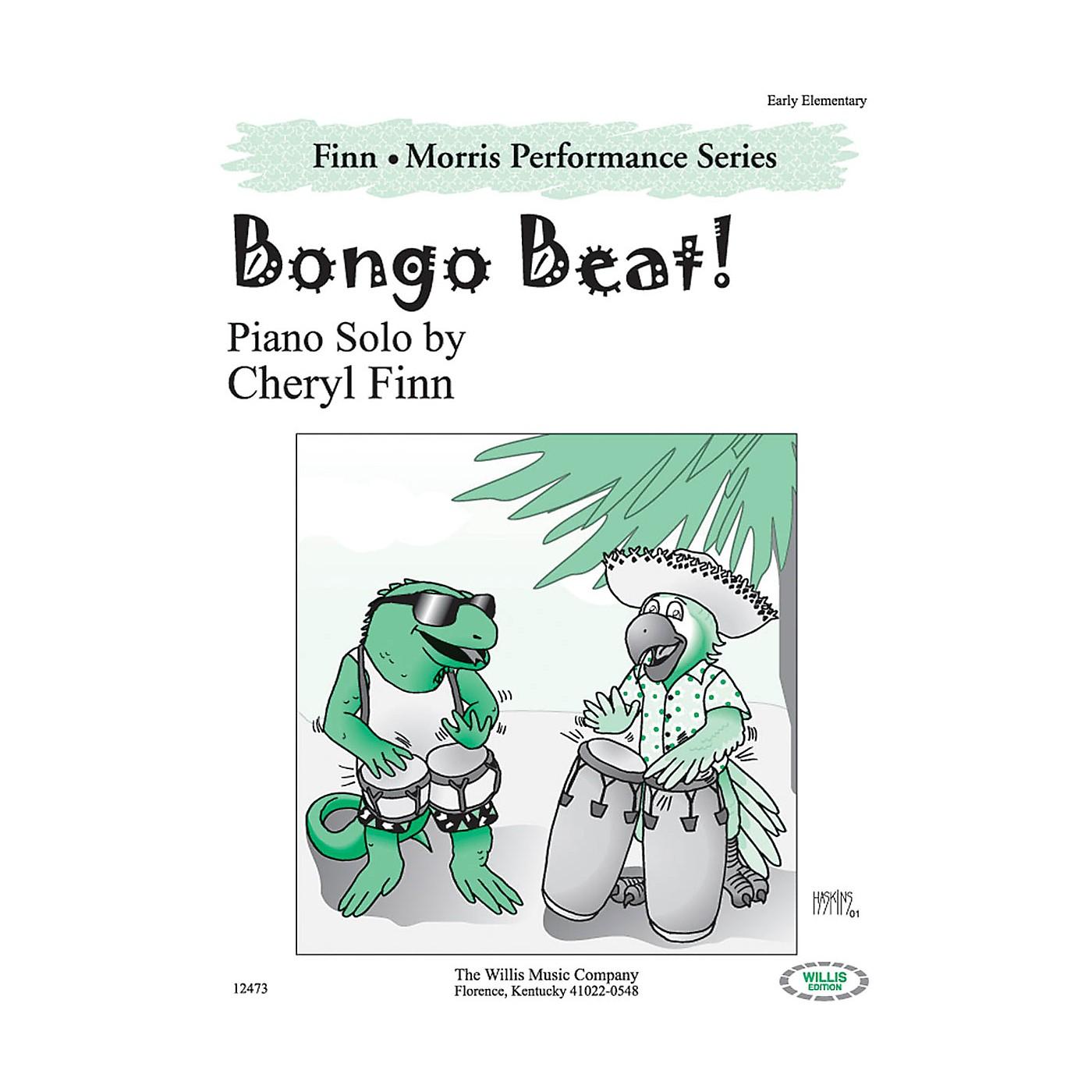 Willis Music Bongo Beat! (The Finn & Morris Performance Series/Early Elem Level) Willis Series by Cheryl Finn thumbnail