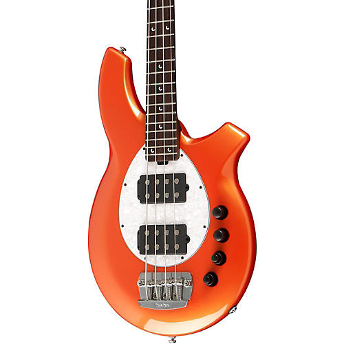 Ernie Ball Music Man Bongo HH Electric Bass Guitar with All Rosewood Neck thumbnail