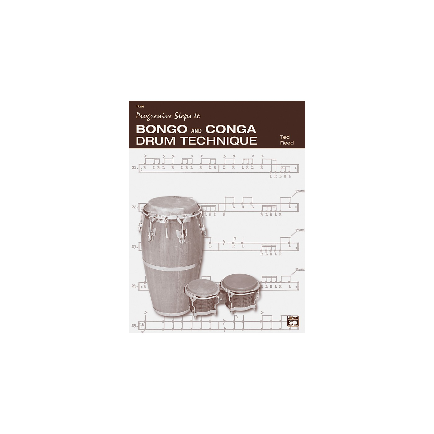 Alfred Bongo and Conga Drum Technique Book thumbnail
