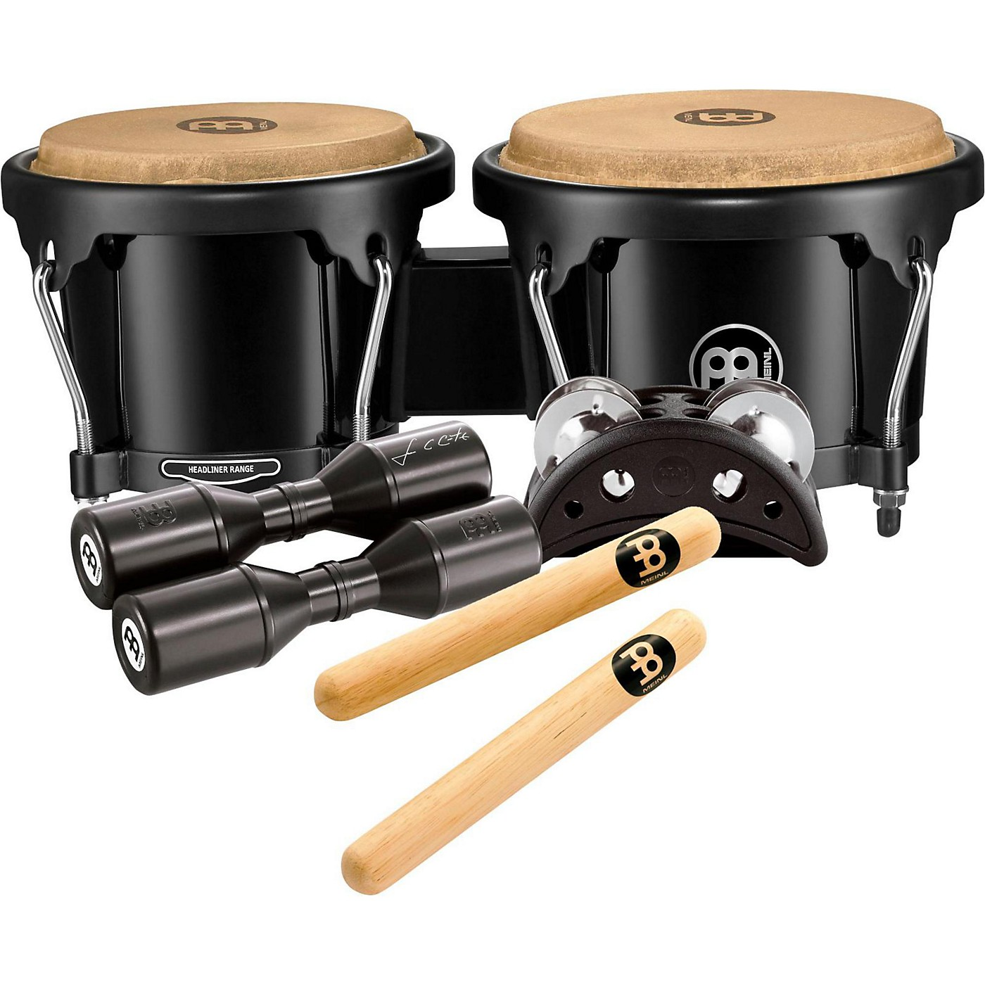 Meinl Bongo and Percussion Pack for Jam Sessions or Acoustic Sets thumbnail