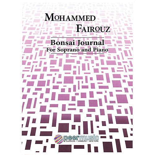 Peer Music Bonsai Journal (Soprano and Piano) Peermusic Classical Series  by Mohammed Fairouz thumbnail