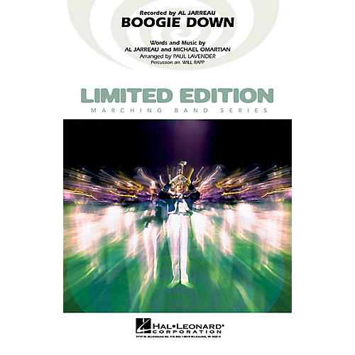 Hal Leonard Boogie Down Marching Band Level 4 Arranged by Paul Lavender thumbnail