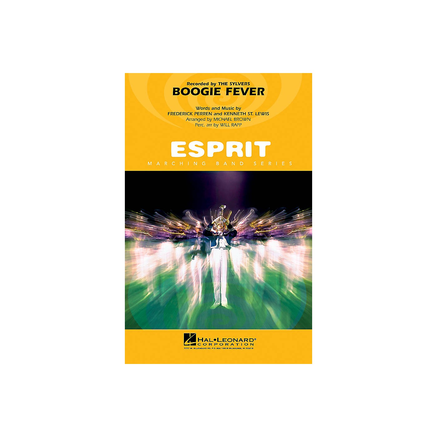 Hal Leonard Boogie Fever Marching Band Level 3 Arranged by Will Rapp thumbnail