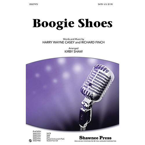 Shawnee Press Boogie Shoes SATB by KC and the Sunshine Band arranged by Kirby Shaw thumbnail