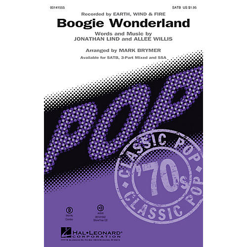 Hal Leonard Boogie Wonderland ShowTrax CD by Earth, Wind and Fire Arranged by Mark Brymer thumbnail