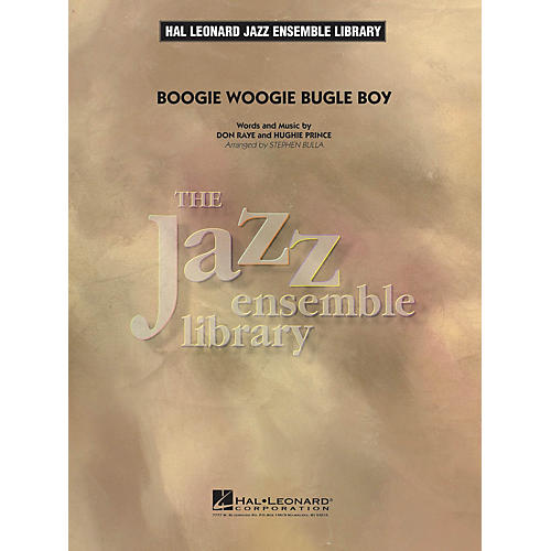 Hal Leonard Boogie Woogie Bugle Boy Jazz Band Level 4 by The Andrews Sisters Arranged by Stephen Bulla thumbnail