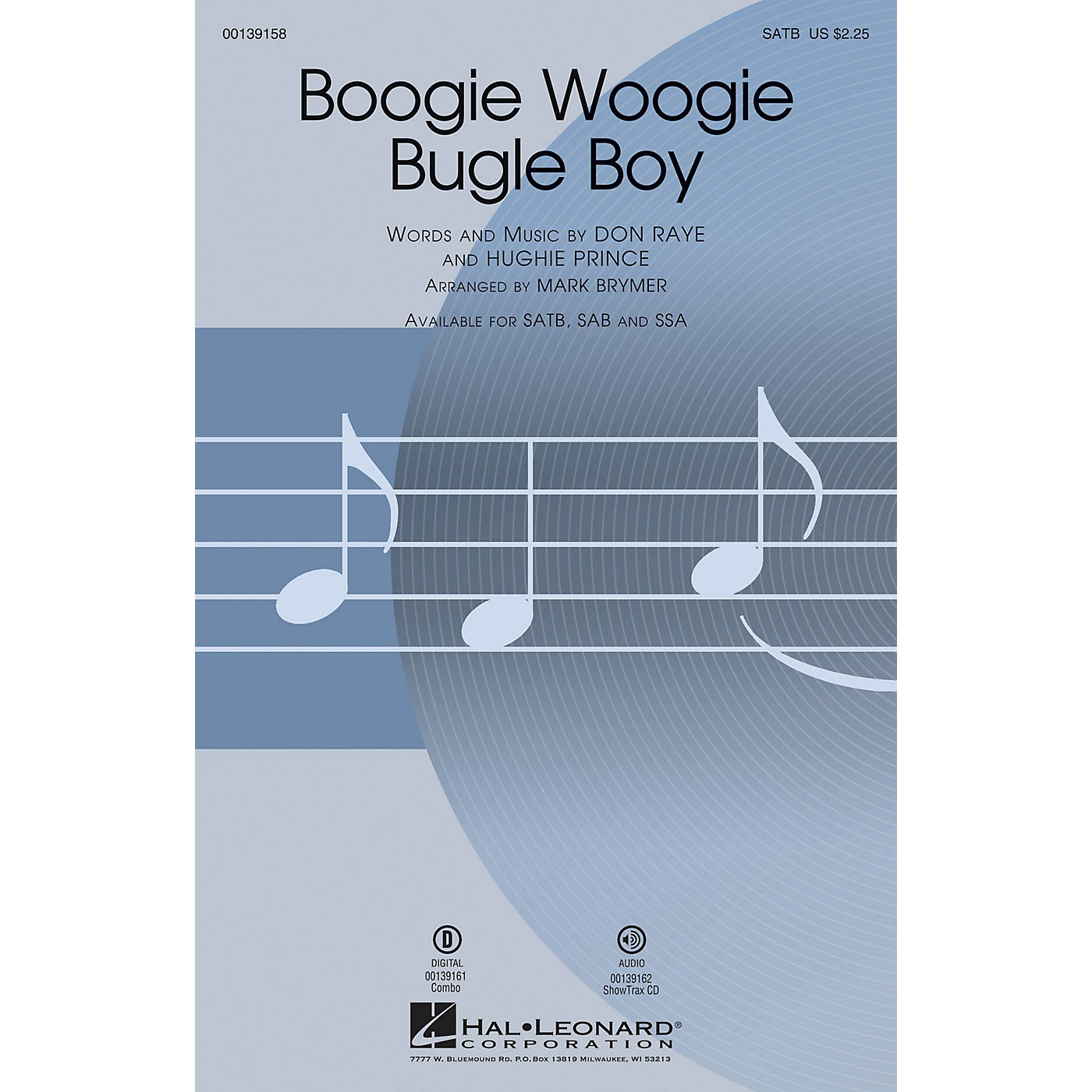 Hal Leonard Boogie Woogie Bugle Boy ShowTrax CD by Bette Midler Arranged by Mark Brymer thumbnail