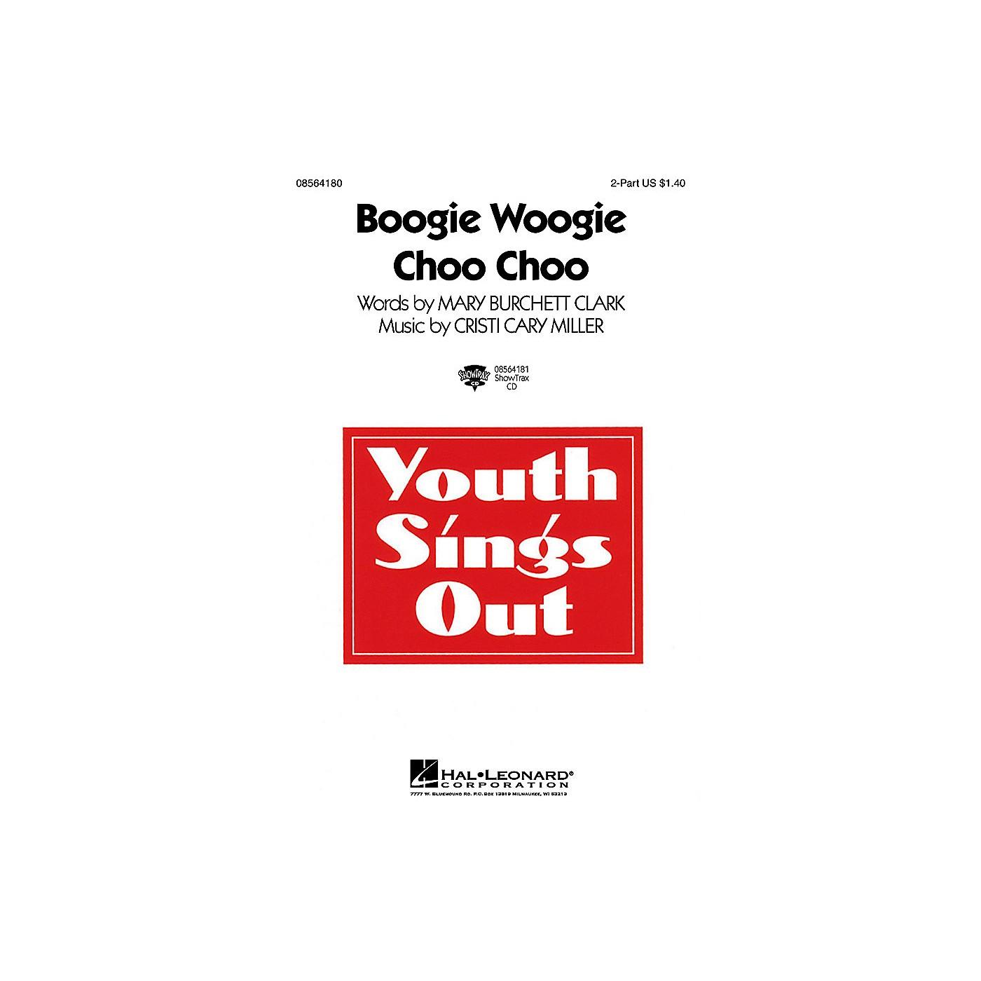 Hal Leonard Boogie Woogie Choo Choo 2-Part composed by Cristi Cary Miller thumbnail