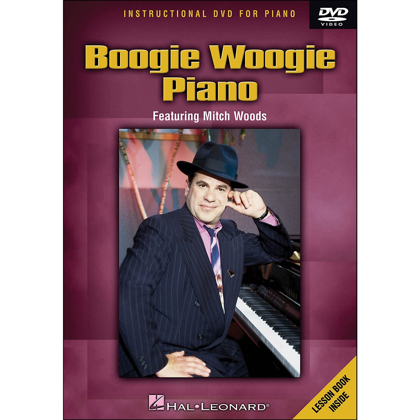 Hal Leonard Boogie Woogie Piano - DVD Featuring Mitch Woods thumbnail