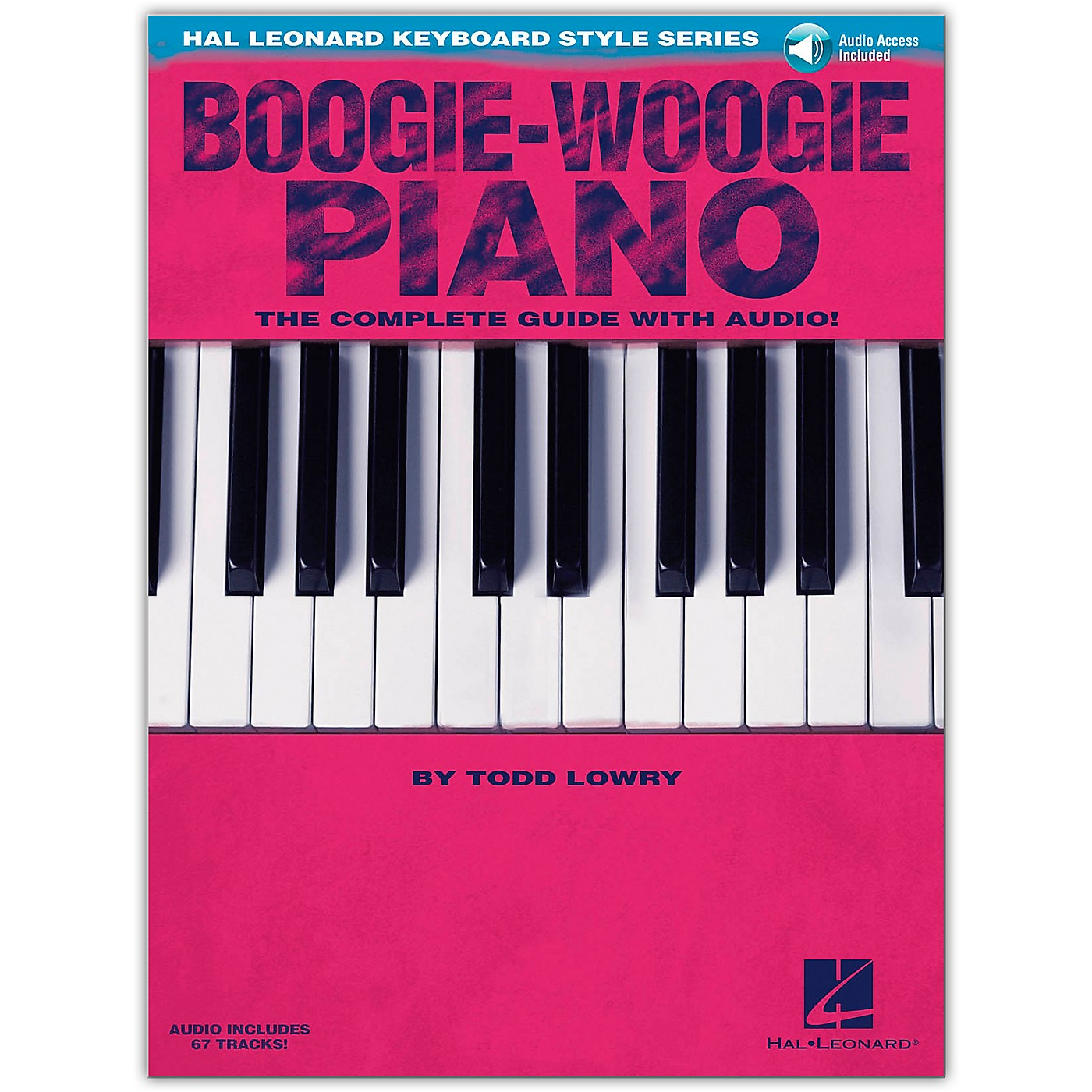 Hal Leonard Boogie-Woogie Piano  The Complete Guide Book/Online Audio from Hal Leonard Keyboard Style Series thumbnail