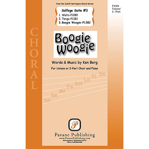 Pavane Boogie Woogie (from Solfege Suite #3) 2-Part composed by Ken Berg thumbnail