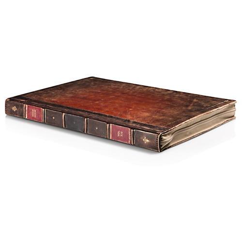 Twelve South BookBook Rutledge Hardback Brown Leather Case MacBook 13 thumbnail