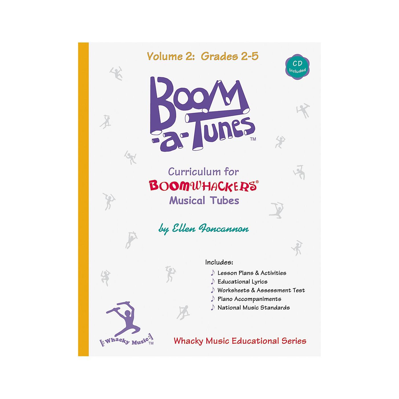Boomwhackers Boom-A-Tunes Curriculum Volume 2 (Book/CD) thumbnail