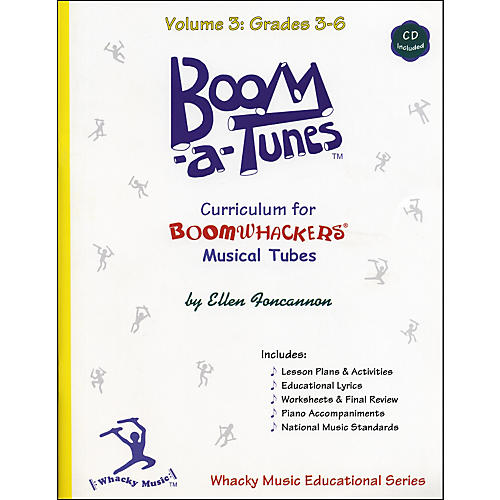 Boomwhackers Boom-A-Tunes Curriculum Volume 3 (Book/CD) thumbnail