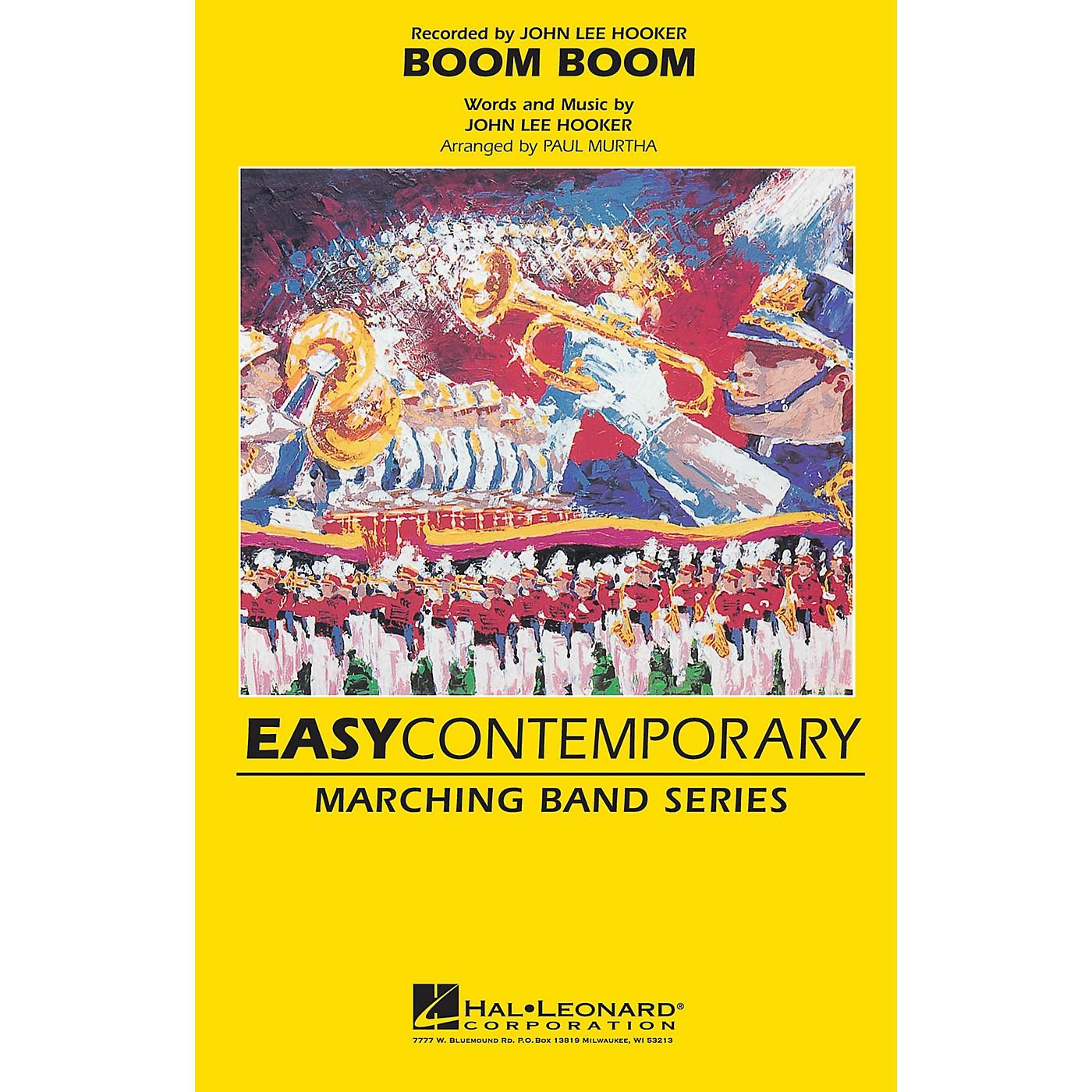Hal Leonard Boom Boom Marching Band Level 2 Arranged by Paul Murtha thumbnail