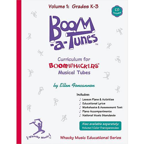 Boomwhackers Boom-a-Tunes Curriculum, Volume 1 (Book/CD) thumbnail