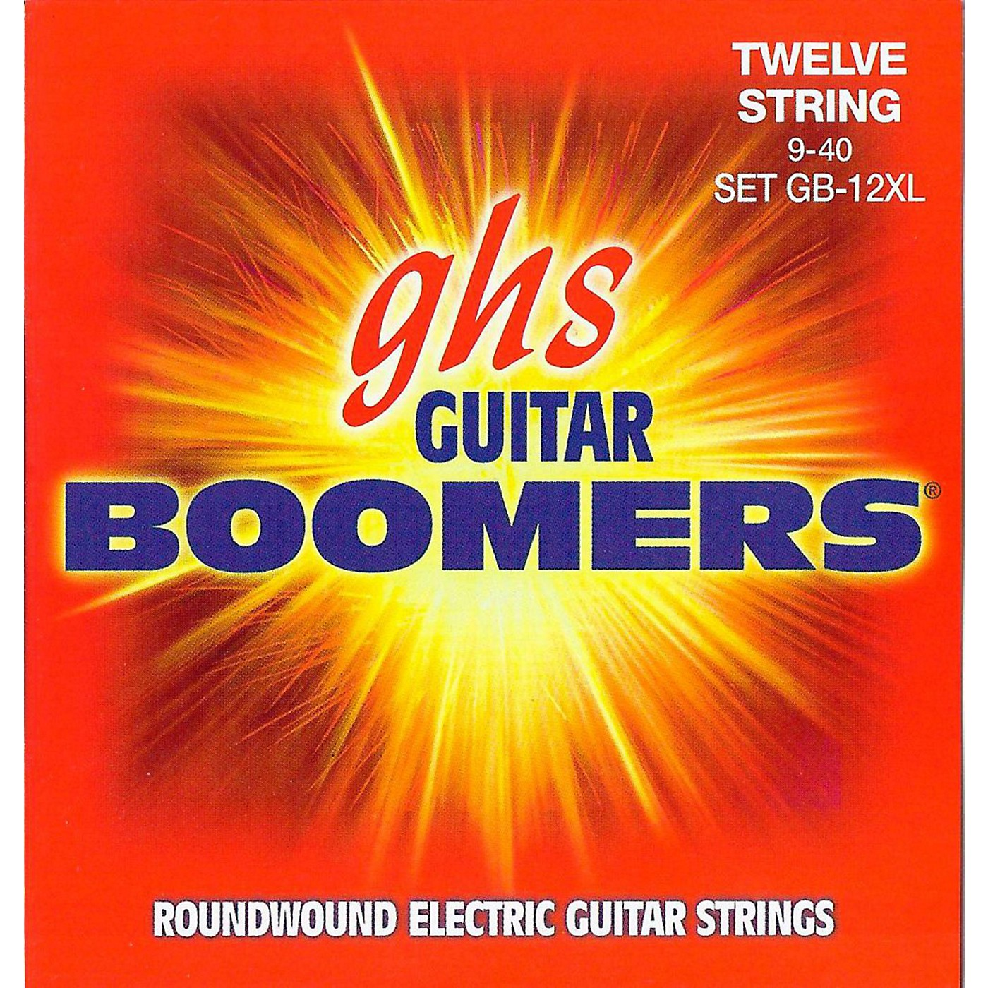 GHS Boomer 12 String Extra Light Electric Guitar Set (9-40) thumbnail