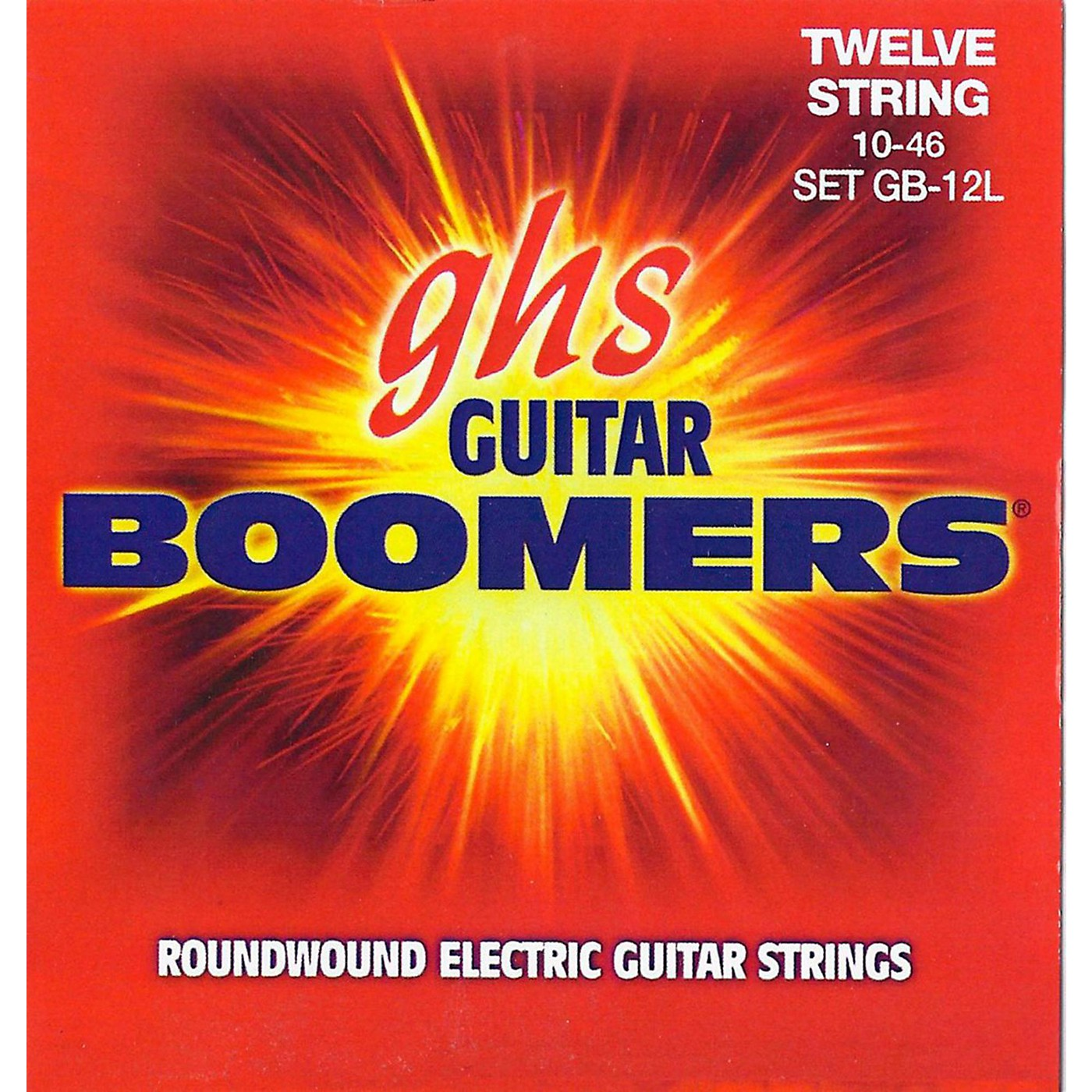 GHS Boomer 12 String Light Electric Guitar Set (10-46) thumbnail