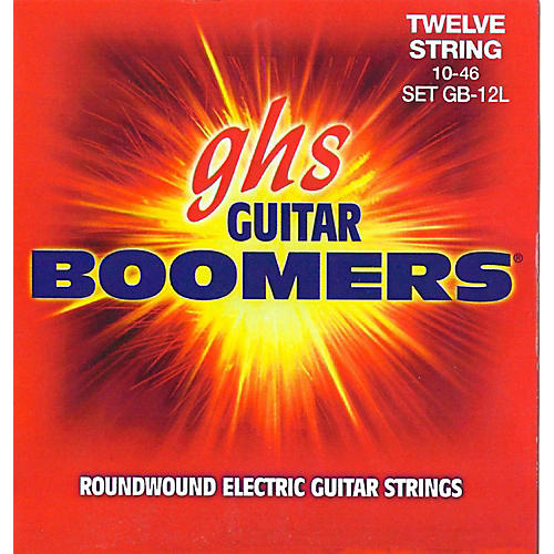 GHS Boomer 12 String Light Electric Guitar Set (10-46) thumbnail