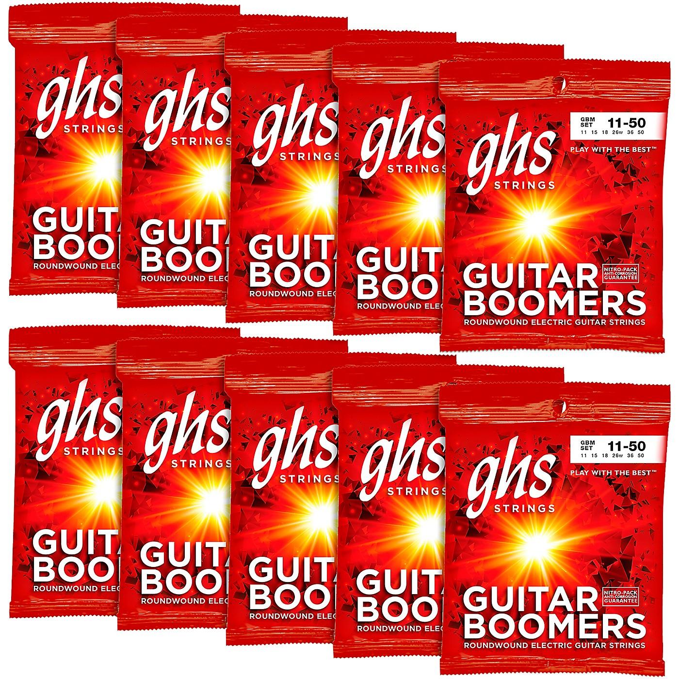 GHS Boomers Medium Electric Guitar Strings 10-Pack thumbnail