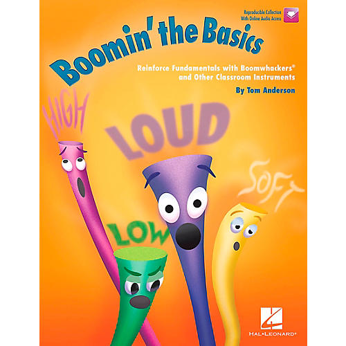 Hal Leonard Boomin' the Basics - Reinforce Fundamentals with Boomwhackers® Book/CD thumbnail
