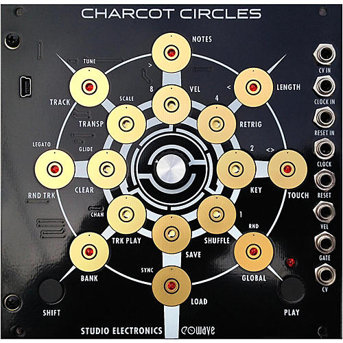 Studio Electronics Boomstar Modular Charcot Circles thumbnail