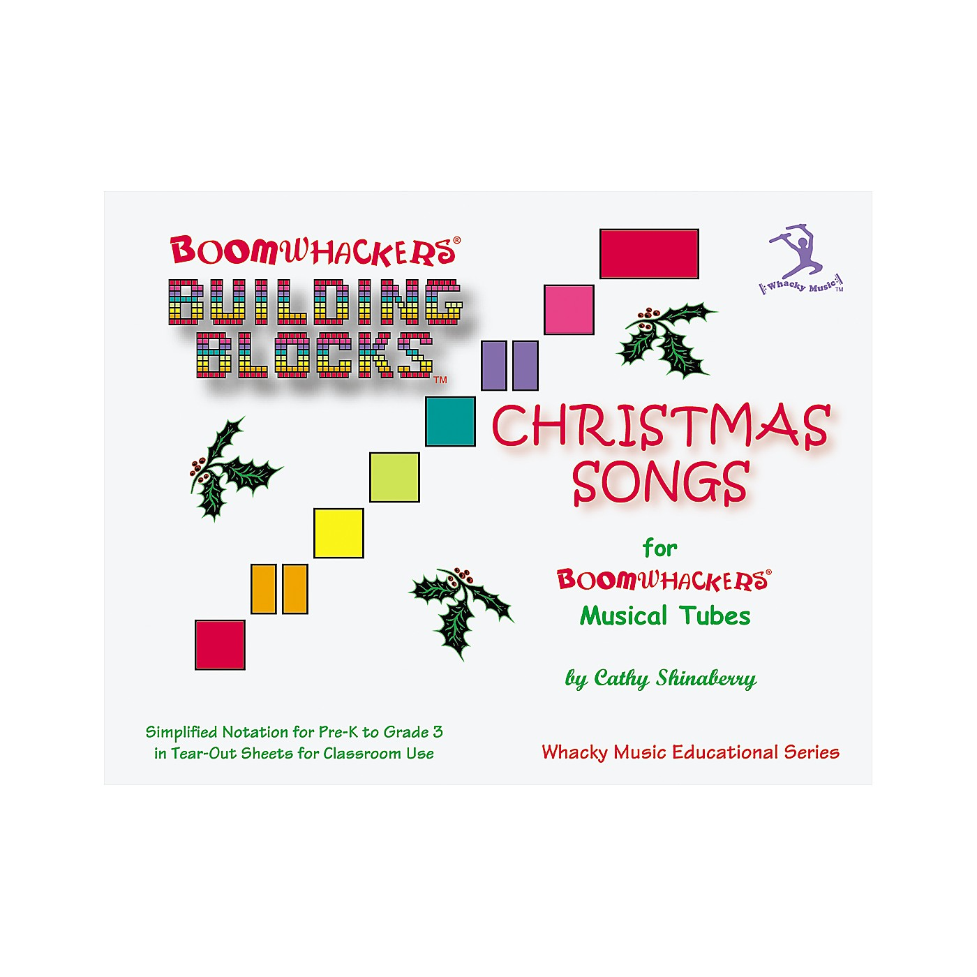 Boomwhackers Boomwhackers Building Blocks Christmas Songs Book thumbnail