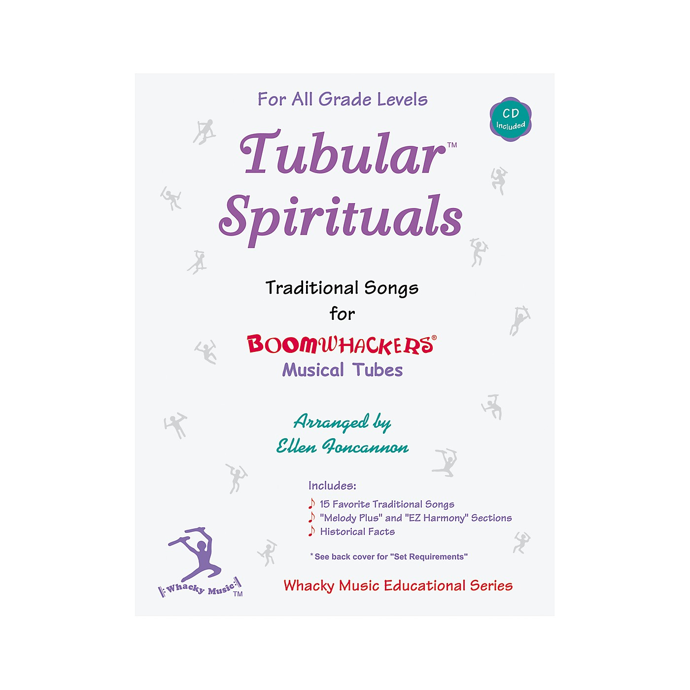 Boomwhackers Boomwhackers Tubes Tubular Spirituals Songbook with CD thumbnail