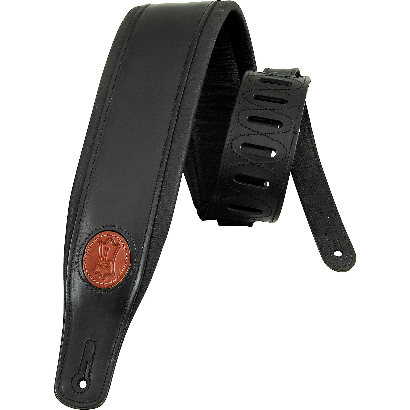 Levy's Boot Leather Guitar Strap thumbnail
