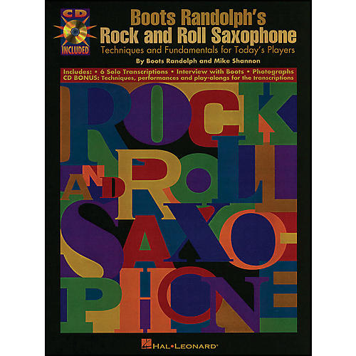 Hal Leonard Boots Randolphs Rock & Roll Saxophone Book/CD thumbnail