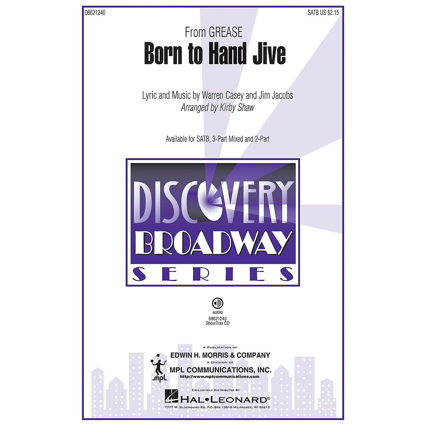 Hal Leonard Born to Hand Jive (from Grease) (ShowTrax CD) ShowTrax CD Arranged by Kirby Shaw thumbnail