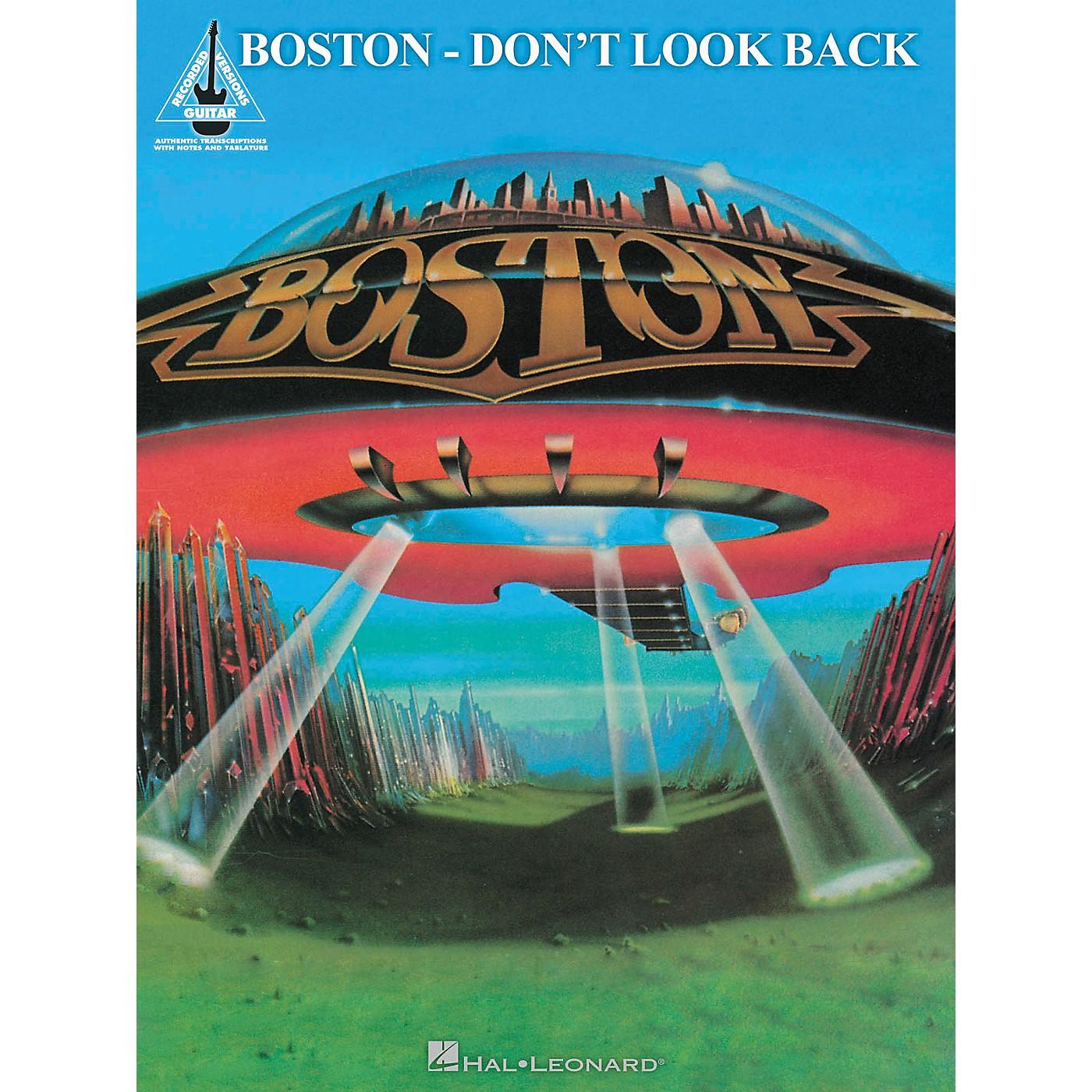 Hal Leonard Boston - Don't Look Back Guitar Recorded Version Songbook thumbnail