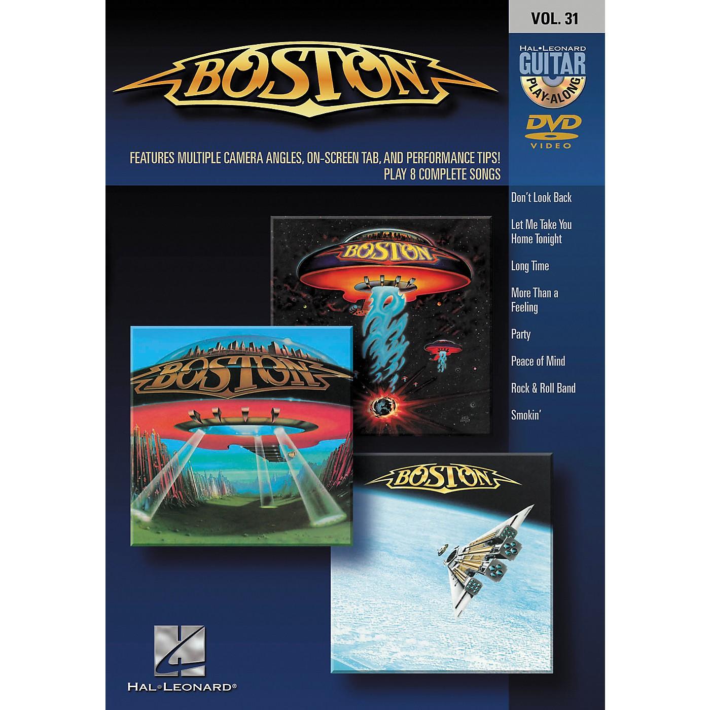 Hal Leonard Boston - Guitar Play-Along DVD Volume 31 thumbnail