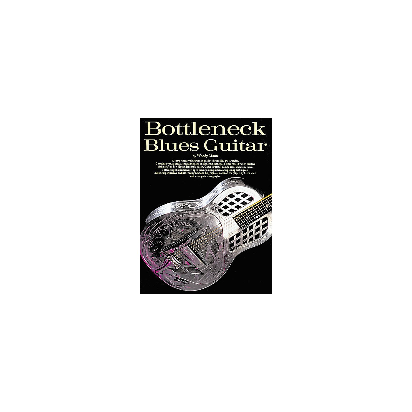 Music Sales Bottleneck Blues Guitar Music Sales America Series Softcover Written by Woody Mann thumbnail