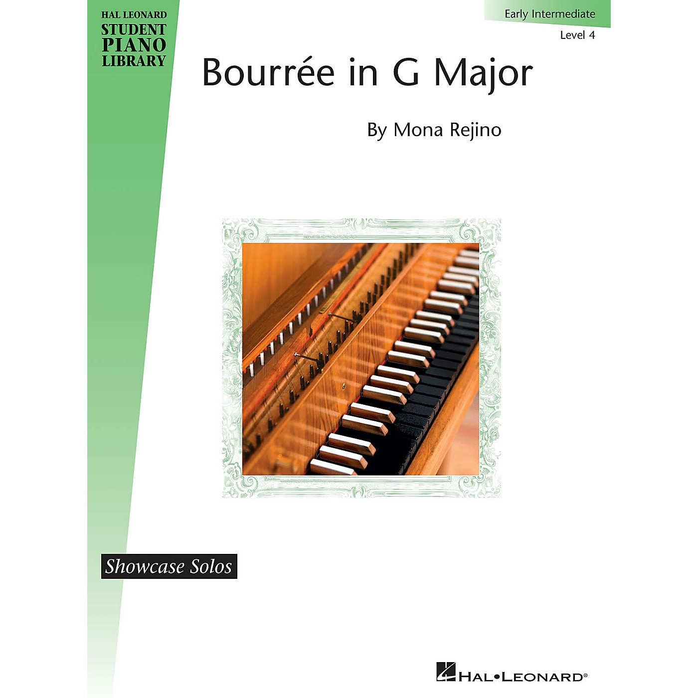 Hal Leonard Bourrée in G Major Piano Library Series by Mona Rejino (Level Early Inter) thumbnail