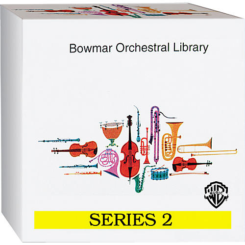 Alfred Bowmar Orchestral Library 12-CD Box Set Series 2-thumbnail